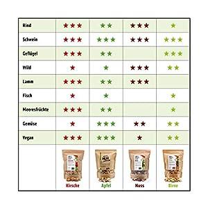 Joe's smoker chips Frucht-Set 4x750g Chips 1-2 cm, Premium Räucherchips für EIN bestes Raucharoma beim Grillen und BBQ / 100% natürliches und rindenfreies Räucherholz.