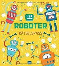 Roboter Rätselspaß: Codes entschlüsseln, rechnen, kombinieren; Schult das logische Denken für Kinder ab 6 Jahren
