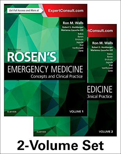 Rosen's Emergency Medicine: Concepts and Clinical Practice: Volume - 1&2