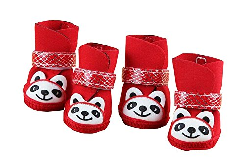 Cute Red Panda Chaussures pour Puppy / Teddy / Poodle Pet Socks
