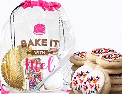 Bake it With Mel - Funfetti Cookie Set for Home Chefs, Events, or Parties. Creative Gift for Kids and Adults. DIY Cooking Activity Kit Complete with Recipe, Measured Ingredients, and Utensils