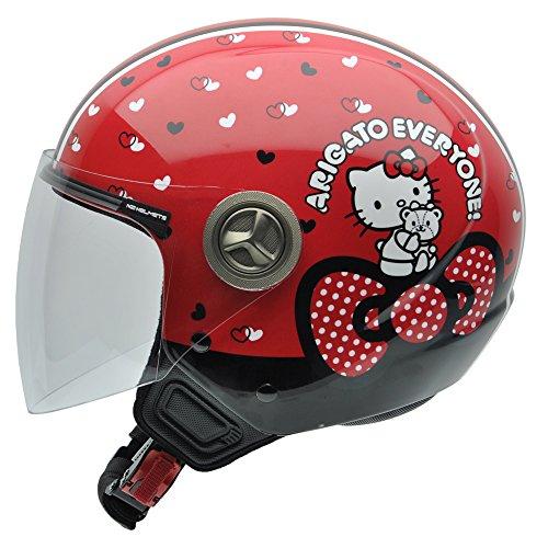 NZI Helix Hello Kitty 40th Anniversary Casco de Moto, Fondo