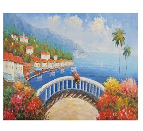 3D-muurschilderij van papier, wallpaper muurschildering, Gigante Del van kunst op olieverfschilderij balkon 400cm*280cm