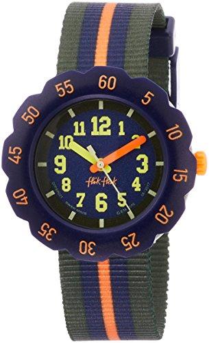 FlikFlak Jungen Analog Quarz Uhr mit Stoff Armband FPSP021