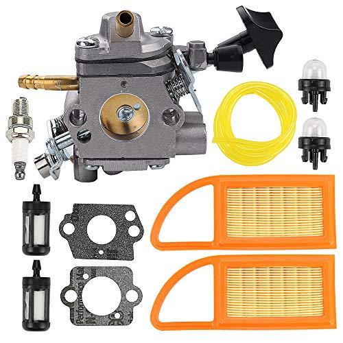 Coolwind WYK-192 Carburetor with Fuel Filter Primer Bulb for Echo PB651H PB651T PB755SH PB755ST Backpack Leaf Blower