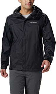 Men's Watertight II Waterproof, Breathable Rain Jacket, Black, X-Large