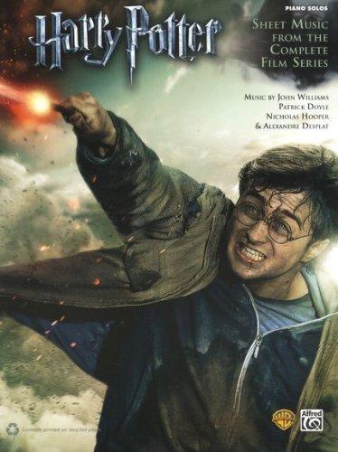 Harry Potter complete -- die Filmmusik aus allen sieben Teilen arrangiert für Klavier solo mit Bleistift (Noten) von Hooper, Nicholas : Desplat, Alexandre : Williams, John : Doyle, Patrick