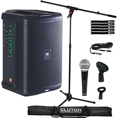 JBL Eon One Compact PA Bluetooth Monitor Speaker w Built In Mixer, Mic & Stand