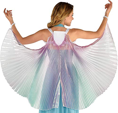 amscan Women's Iridescent Wings- 1 pc, Multicolor, One Size