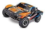 Traxxas RC Short Course Truck Slash orange X RTR - Camión teledirigido (incluye cargador de 12 V y...