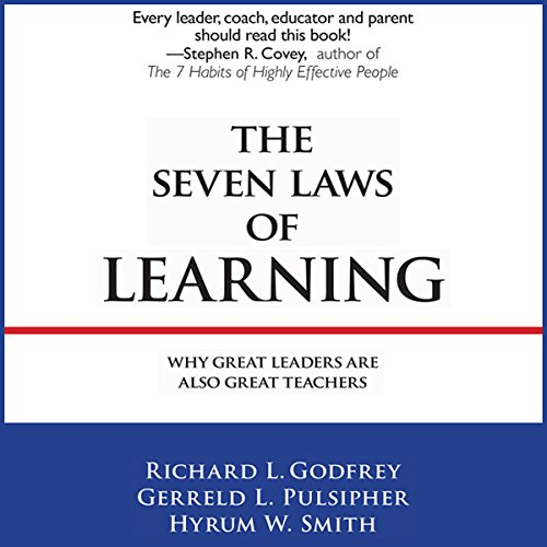 The Seven Laws of Learning audiobook cover art