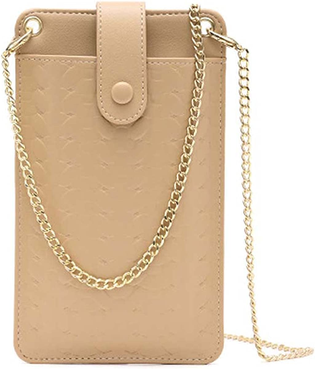 Womens Crossbody Cellphone Bag Rapid rise Tucson Mall Small Chian Shoulder Woven Purse