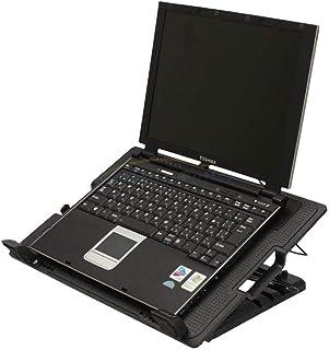 قاعدة تبريد USB قابلة للتعديل عريضة من 9 إلى 17 بوصة بمراوح هادئة، متوافقة مع اجهزة ايسر، لينوفو، توشيبا، ميني لاب توب، دي...