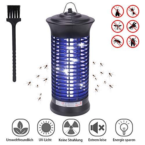 CGBOOM Mückenfalle, Elektrischer Insektenvernichter mit 6W und 365 Nanometer UV-Licht Insektenabwehr, Effizient Anti Moskito Killer Lampe für Drinnen und Draußen