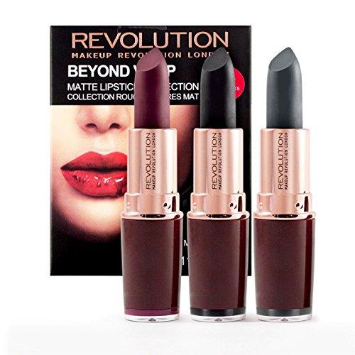 Makeup Revolution - Lippenstift Set - Vamp Matte Collection - Beyond Vamp