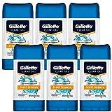 Gillette Sport High Performance Antiperspirant/Deodorant Sport Triumph Clear Gel, 3.8 Ounce (Pack of 6)