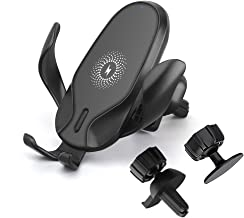 Wireless Car Charger Mount, FDGAO Fast Gravity Car Mount 15W Wireless Charger Car Phone Holder for iPhone 11/11Pro/11Pro Max/XR/XS Max/X/8, Samsung S10/S9/S8/S7/Note 9/8 and Qi Enabled Devices