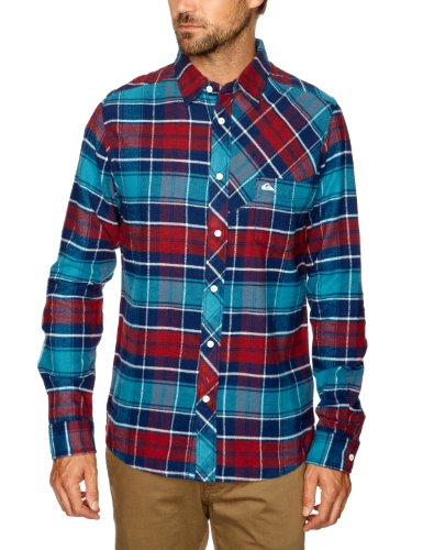 Quiksilver - Chemise - Homme - Bleu (Ultra Marine) - FR : XX-Large (Taille fabricant : XXL)