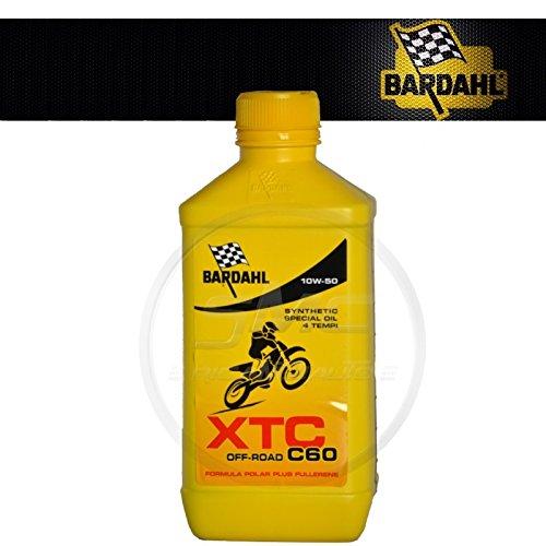 4 litri lt Olio Motore Moto Bardahl XTC C60 Off Road 4T 10W50 10W-50 10W 50