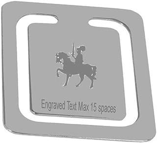 Gravierte Ritter Ehre Lesezeichen  personalisierte Logo Seite Lesezeichen  Boxed B01M59NTF1  Mittlere Kosten