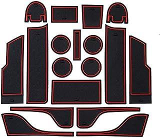 xiaobobo Tappetino Antiscivolo con Supporto per Telefono Antiscivolo con Logo per Auto Tappetino Antiscivolo per BMW Suzuki Ford Toyota Honda Audi Kia Renault Opel Accessori Toyota