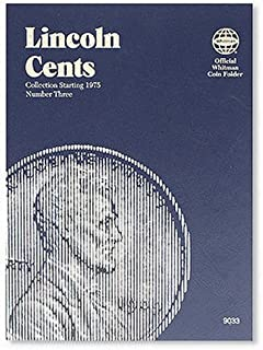 Lincoln Cents: Collection Starting 1975, Number Three: 3 (Official Whitman Coin Folder)