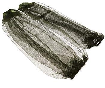 Create Idea 2X Casquette moustiquaire tête Voyage Camping Maille Chapeau Protecteur Visage Filet Anti-moustiques