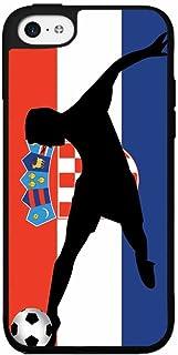 BleuReign(TM) World Cup Croatia Soccer Plastic Phone Case Back Cover iPhone 5c
