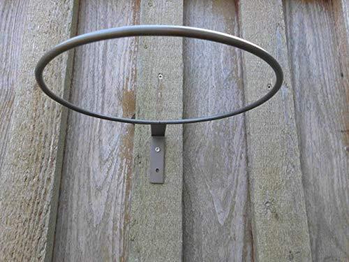 Deko-Impression Topfhalter einzeln Wandhalter Eisen Blumenhalter Wanddekoration 19 cm