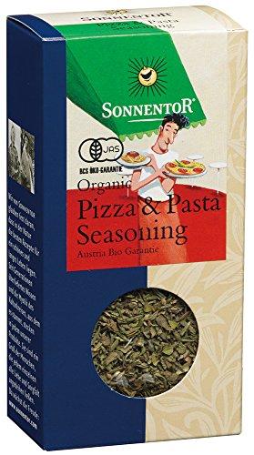 Sonnentor Pizza- und Pastagewürz, 1er Pack (1 x 25 g) - Bio