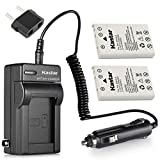 Kastar Battery 2-Pack + Charger Kit for Nikon EN-EL5, Nikon MH-61 work with Nikon Coolpix 3700, 4200, 5200, 5900, 7900, P3, P4, P80, P90, P100, P500, P510, P520, P530, P5000, P5100, P6000, S10 Cameras