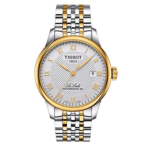 Tissot Unisex-Uhren Analog Automatik One Size Edelstahl 87847047