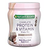 Nature's Bounty Optimal Solutions Protein Shake Chocolate, 16 Ounce...