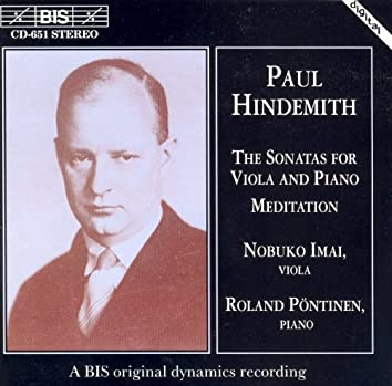 Hindemith: Viola Sonatas / Meditation
