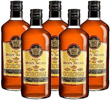 Licor de Ron Miel 3 coronas de 70 cl - D.O.Islas Canarias ...