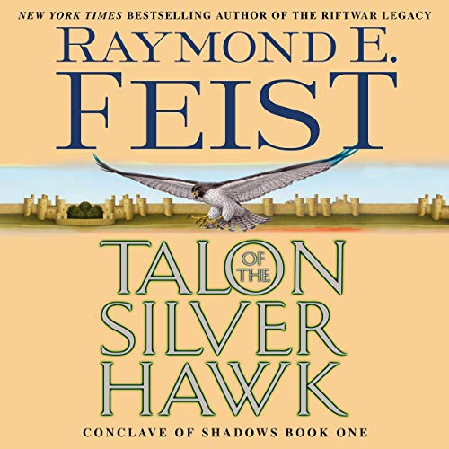 Couverture de Talon of the Silver Hawk
