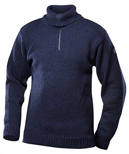 Devold Originals Nansen Zip Neck Sweater Men - Woll Pullover mit Front-Zipper