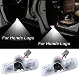 xy 2-20 Stück for Honda Logo Auto-Tür-LED-Licht-Projektor for Accord Pilot Cross Emblem Geist Courtesy Welcome Light Car Tunning (Color : 8 Pieces, Emitting Color : for Honda Logo)