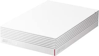 BUFFALO USB3.1(Gen.1)対応 みまもり合図 for AV対応 外付けHDD 2TB ホワイト HD-LDS2.0U3-WA