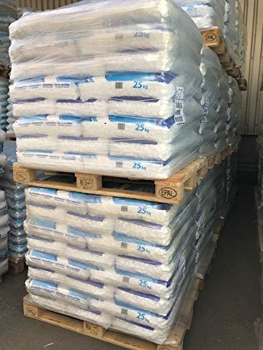 Kloek Palette Salztabletten Regeneriersalz für Wasserenthärtungsanlagen und Schwimmbäder - 1000 kg - (40 x 25kg) Salz Pastillen, BUNDESWEIT GELIEFERT (Inseln ausgeschlossen.)