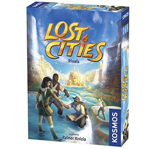 Preisvergleich Produktbild Thames & Kosmos 690335 Lost Cities: Rivals / Venture Out on The Expedition / Bidding & Set-Sammelspiel