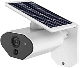 GXSLKWL IP67 Waterproof Outdoor Solar Battery Powered Security Camera HD 1080P Home Wireless IP Camera Two-Way Audio Quick...
