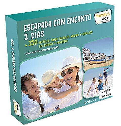 Cofre DE EXPERIENCIAS ESCAPADA con Encanto 2 DÍAS - Más de 350 escapadas Familiares...