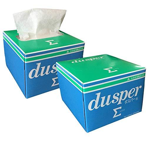 【小津産業】 Dusper Σ (ダスパーシグマ レンズクリーニングペーパー 連続取り出し式 150枚 日本製 2箱セット