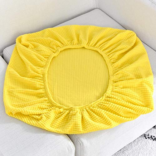 HXTSWGS Housse de Canapé d'angle Extensible,Sofa Seat Cushion Cover, Stretch Sofa Covers for Living Room Chair Cover Pets Kids Furniture Protector-Yellow_Length 165-200cm