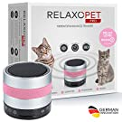RelaxoPet PRO Tierentspannungs-Trainer | Version 2020 | Für Katzen | Beruhigung durch Klangwellen | Ideal bei Gewitter, Alleinsein oder auf Reisen | Hörbar und unhörbar