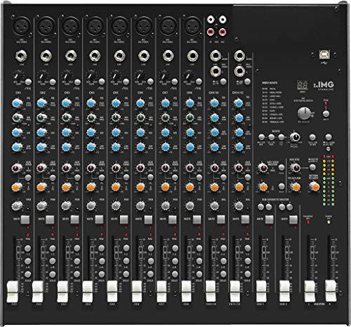 IMG STAGELINE MMX-82UFX 10-Kanal-Audio-Mischpult, 12 Eingänge, schwarz