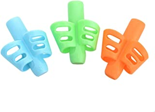 akaddy 3Pcs Children Writing Pencil Holder Kids Learning Practise Pen Aid Grip Posture Correction Device 330.00 * 220.00 *...