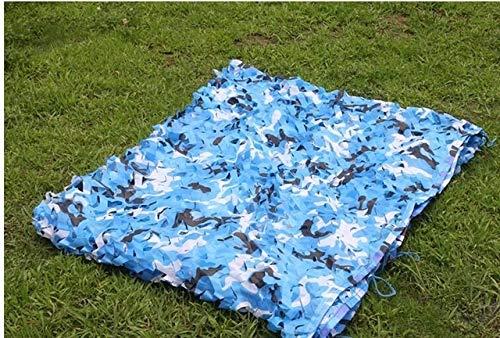 YYTR Recreación al Aire Libre 2x3m / 4mx2m / 5mx2m Caza Camuflaje Militar Nets Ejército Woodland Camo tapizado de Entrenamiento de compensación de Coches Tienda de Sombra Refugio Camping Sol Lona