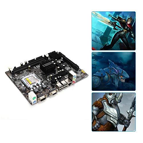 Computer moederbord RL8105E 100M netwerkkaart 6-kanaals audiochip DDR2 667 / 800MHz 2xDDR2 DIMM batterij CR2032 voor Intel 945GC + ICH chipset / FSB533 / 800MHz bus / Core2 DUO van de LGA775-interface